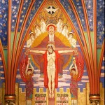 Cathedral of the Madeleine, central mural in apse