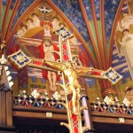 Cathedral of the Madeleine, processional crucifix