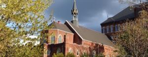 chapel clouds large