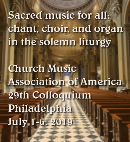 Sacred Music Colloquium (photo credit: Joseph Fernandes via Wikimedia)